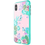 Nillkin Floral Hard Case Green for iPhone XS Max