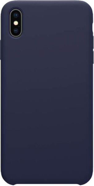 Син кейс Nillkin Flex Pure Liquid Silicone Case Blue за iPhone XS Max