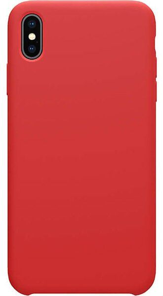 Червен силиконов кейс Nillkin Flex Pure Liquid Silicone Case Red за iPhone XS Max