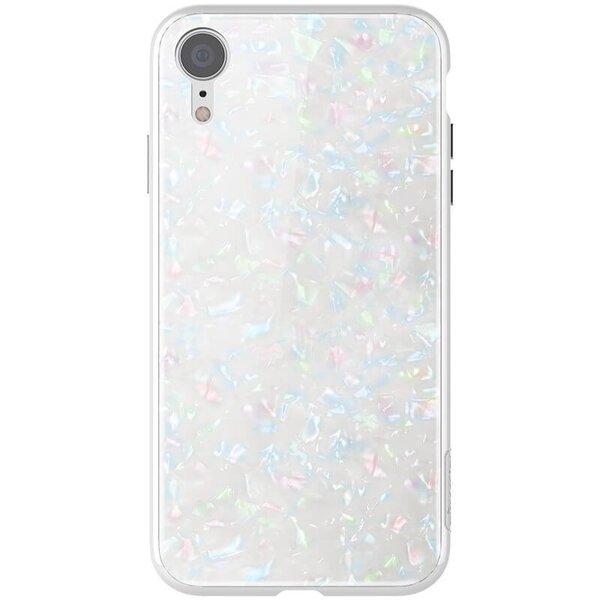 Бял кейс Nillkin SeaShell Hard Case White за iPhone XR