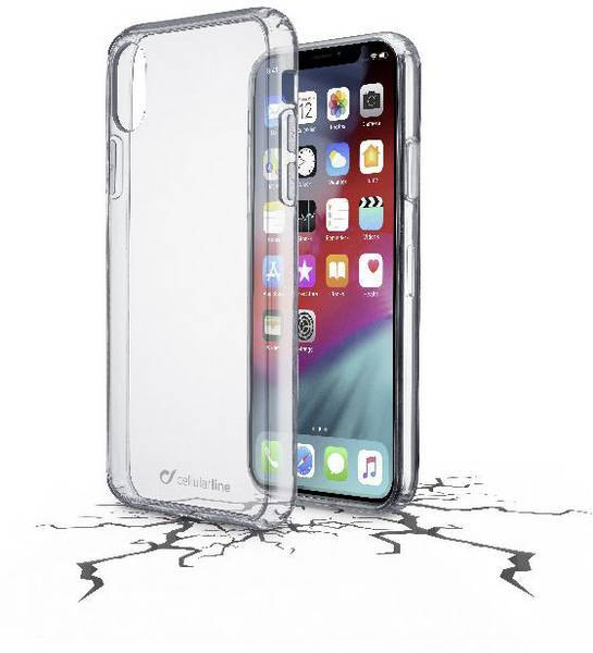 Кейс на CellularLine за iPhone Xs Max Clear Duo