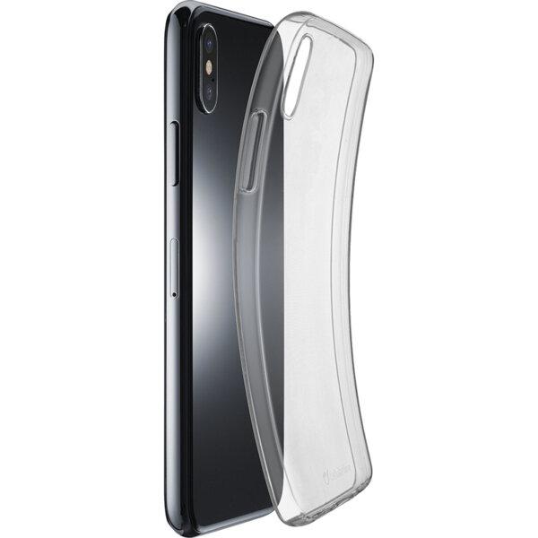 Cellularline Fine прозрачен калъф за iPhone Xs Max