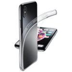 Cellularline Fine прозрачен калъф iPhone Xs Max