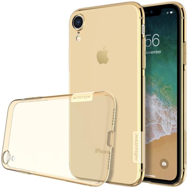 Жълт/кафяв Кейс Nillkin Nature TPU Case за iPhone XR yellowish brown