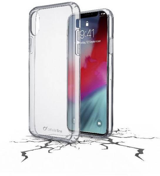 Прозрачен кейс на CellularLine за iPhone Xr Clear Duo