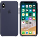 Apple iPhone X Silicone Case (Midnight Blue)