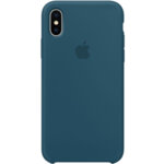 Apple Silicone Case for iPhone X - Cosmos Blue