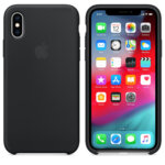 Apple iPhone XS Silicone Case - Black