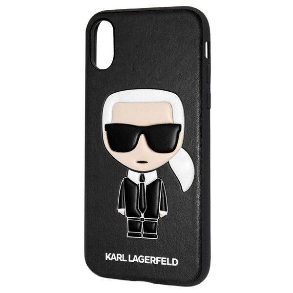 Кейс CG Mobilr за Iphone X Karl Lagerfeld KLHCPXIKPUBK