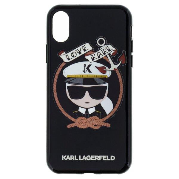 Кейс CG Mobile за Iphone X Karl Lagerfeld KLHCPXKSB