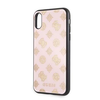 Кейс GUESS Glittery Impact Case Drop Cover за iPhone x XS
