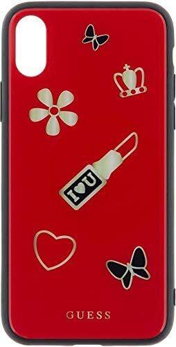 Червен Кейс Guess Iconic TPU Case Red за iPhone X