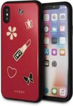Guess Iconic TPU Case Red for iPhone X