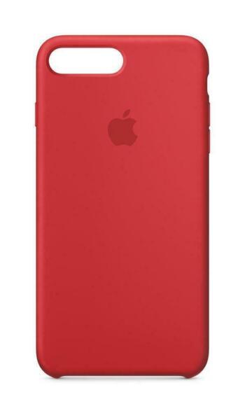 Силиконов кейс червен Apple за iPhone 7 Plus/8 Plus Silicone Case ((PRODUCT)RED)