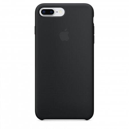 Apple iPhone 7 Plus/8 Plus Silicone Case (Black)