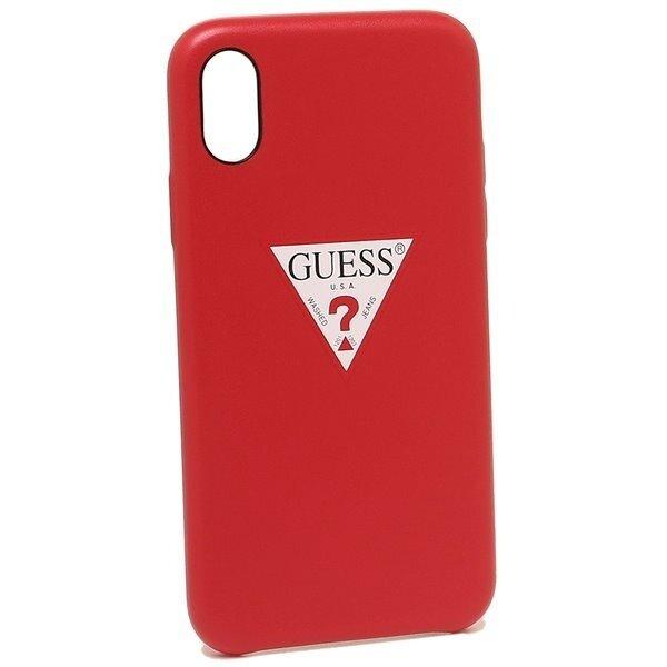 Червен Кейс Guess Triangle Hard Case Red за iPhone X/XS