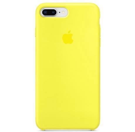 Apple Silicone Case iPhone 8/7 Plus Flash yellow