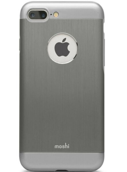 Сив кейс Moshi за iPhone 7 Plus Hardshell Case - Shop Cases | Gray Armour by Moshi