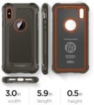 Spigen Pro Guard Cover pro iPhone X Army Green