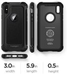 Spigen Pro Guard Cover for iPhone X Black (EU Blister)