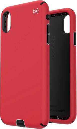 Червен/сив/черен кейс Speck за iPhone XS/X PRESIDIO SPORT (HEARTRATE RED/SIDEWALK GREY/BLACK)