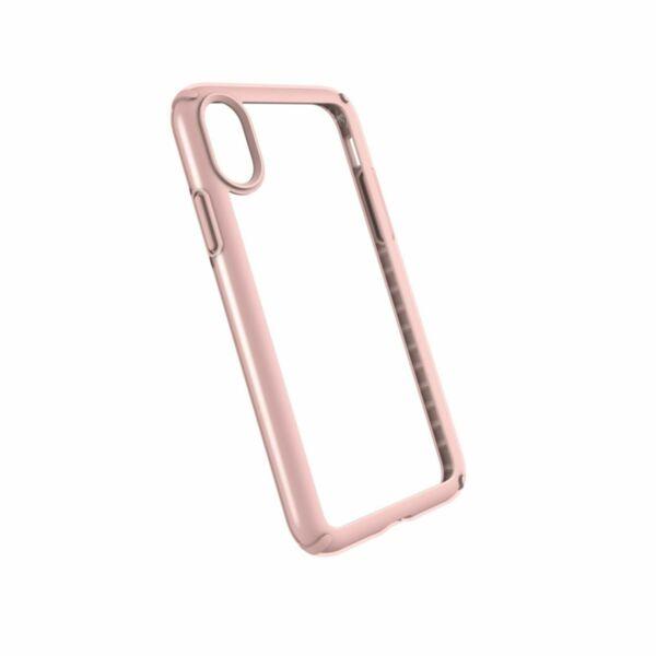 Розово/злато Кейс Speck за Apple iPhone X Presidio Show Case Clear  Rose Gold