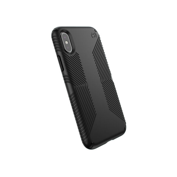Черен Кейс Speck - Presidio Grip Case за Apple iPhone Xs / X