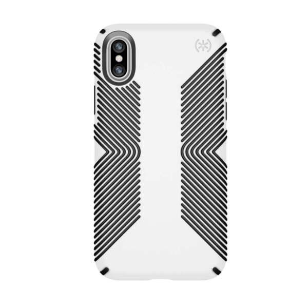 Speck iPhone X  Presidio Grip Case - удароустойчив хибриден кейс