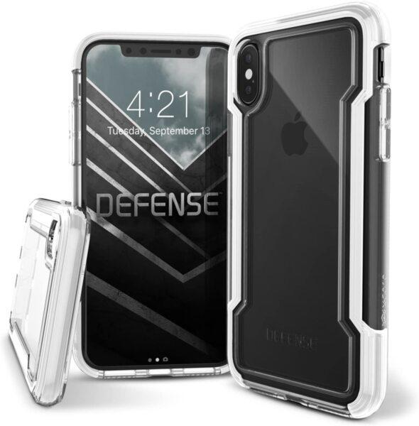 X-Doria Case Defense Clear iPhone X/XS White