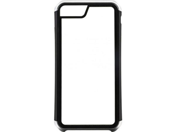 Черен/сребърен кейс Luphie Double Dragon Alluminium Hard Case за iPhone X