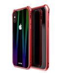 Червен/черен кейс Luphie Aurora Magnet Hard Case за pro iPhone X