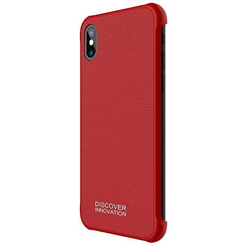 Nillkin Tempered Magnet Hard Case Red pro iPhone X/XS
