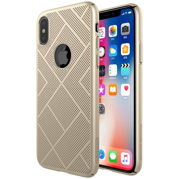 Златен кейс Nillkin Air Case Super Slim за iPhone X