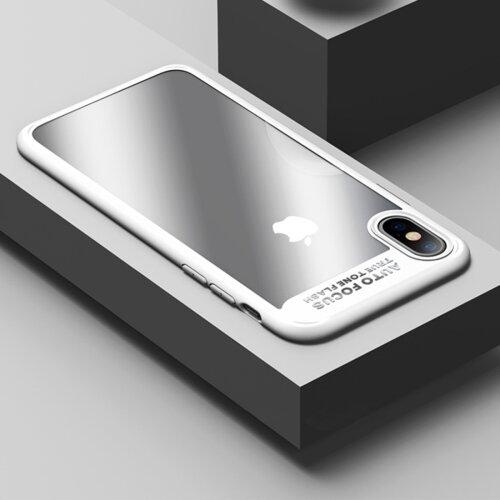 Бял Кейс USAMS Mant Hard Case за iPhone X