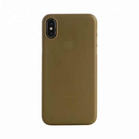 Tucano Nuvola Case for iPhone X - Gold