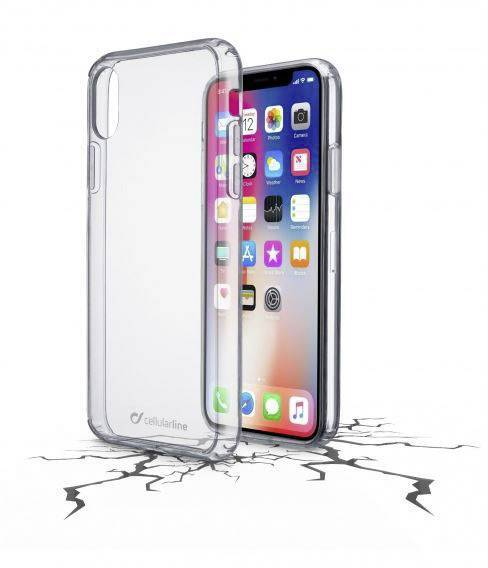 CELLULAR LINE CLEAR DUO Bookcover Apple iPhone X Kunststoff