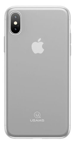 USAMS J-Wing 0,48mm TPU Case Transparent for iPhone X