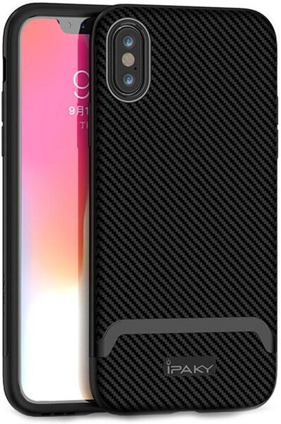 Кейс Ipaky Bumblebee Case за iPhone X/XS black and gray