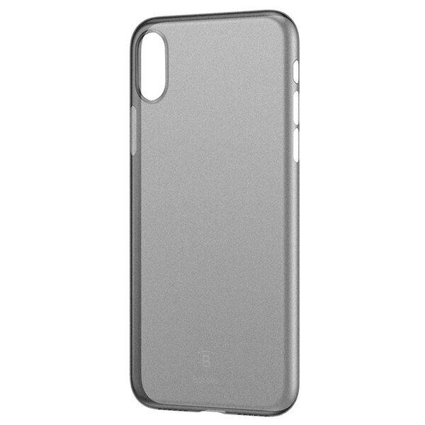 Кейс черен BASEUS Ultra-thin Matte Finish Hard Plastic Case за iPhone X