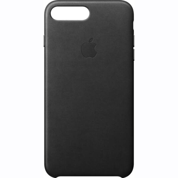 Черен кожен кейс на Apple за iPhone 7 Plus