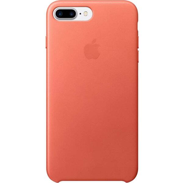 Apple iPhone 8/7 Plus Leather Case - Geranium