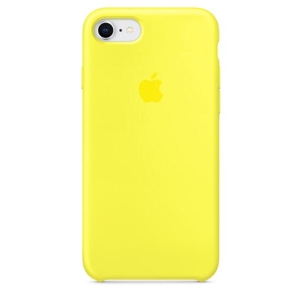 Силиконов жълт кейс на Apple за Iphone 8/7  - Flash