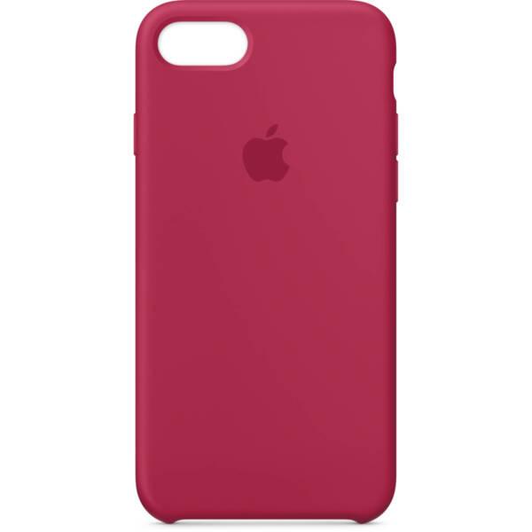 Червен силиконов кейс на Apple за  iPhone 8/7 - Rose Red