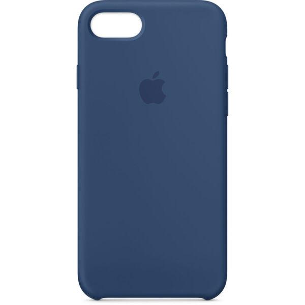 Син Кобалт силиконов кейс на Apple за iPhone 7/8 Silicone Case - Blue Cobalt