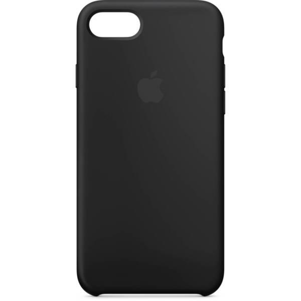 Черен силиконов кейс на Apple за iPhone 7/8