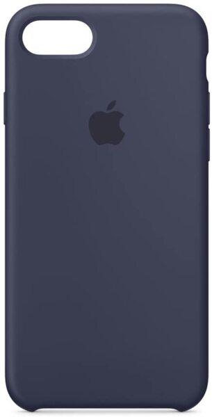 Силиконов кейс на Apple за iPhone 7/8  (Midnight Blue)