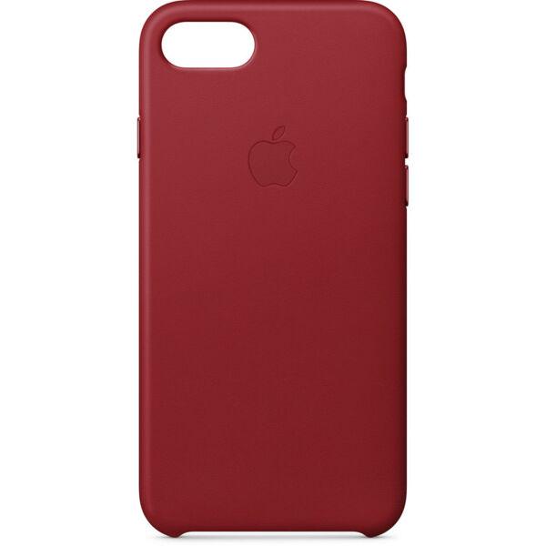 Кожен Кейс Apple за iPhone 8/7  ((PRODUCT)RED)
