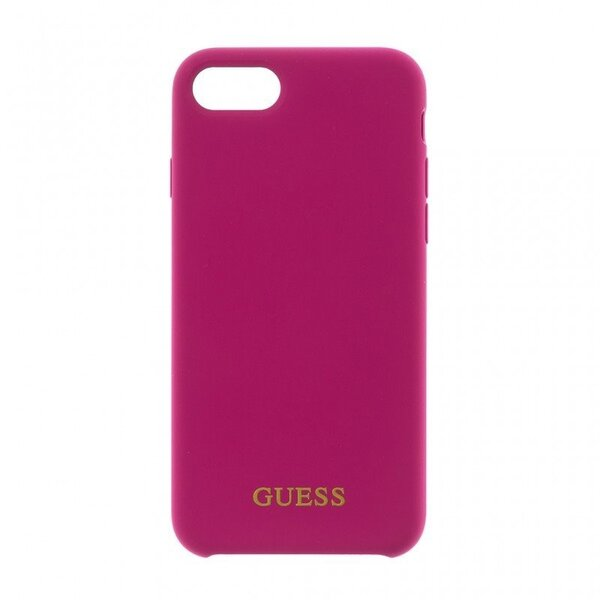 Силиконов Кейс от Guess   Logo TPU Case Pink pro за  iPhone 7/8 Plus