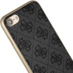 CG Mobile GUHCI8LGF4GGR Guess Charms Hard Case 4G Grey for iPhone 7