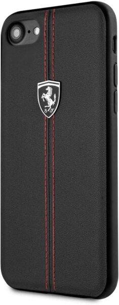 CG Mobile FERRARI Case - Hard Case Off Track Heritage FEHDEHCI8BK - Iphone 7/8 Black
